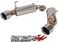 Tanabe Medalion Touring Cat-Back Exhaust - Infiniti G37 Coupe 08-08