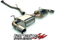 Tanabe Medalion Touring Cat-Back Exhaust - Mazda RX-8 04-06