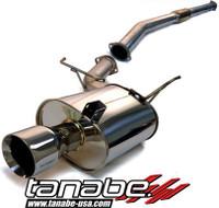 Tanabe Medalion Touring Cat-Back Exhaust - Mitsubishi Lancer EVO9 06-07