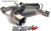 Tanabe Medalion Touring Cat-Back Exhaust - Nissan 350Z 03-06