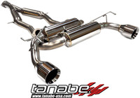 Tanabe Medalion Touring Cat-Back Exhaust - Nissan 370Z 09-10