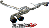 Tanabe Medalion Touring Cat-Back Exhaust - Nissan GT-R 09-09