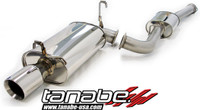 Tanabe Medalion Touring Cat-Back Exhaust - Toyota Supra 87-92