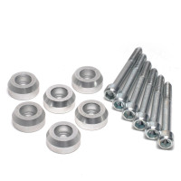 Skunk2 Lower Control Arm Bolt Kit, Clear Anodized
