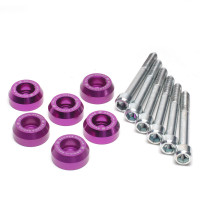 Skunk2 Lower Control Arm Bolt Kit, Purple Anodized