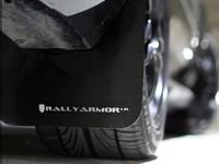 Rally Armor Black/White Urethane  Mud Flaps - 2002-2007 Subaru Impreza WRX/STI