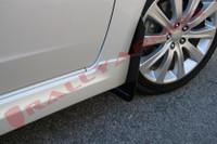 Rally Armor Black/Blue Urethane  Mud Flaps - 2008-11 Subaru Impreza WRX