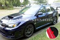 Rally Armor Black/Grey Urethane  Mud Flaps - 2011+ Subaru STI/WRX