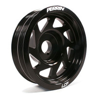Perrin 02+ Impreza (WRX/STi) Crank Pulley - Black