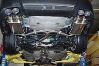 Invidia Subaru Sti 4 Doors Q300 Rolled Titanium Tips Cat-Back Exhaust 11-UP
