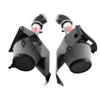 aFe Takeda Air Intake System -  Pro Dry S ; Nissan 350Z 07-08 V6-3.5L - POLISHED