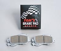 "TOM'S Front Brake Pads ""Sports"" - Scion FR-S / Subaru BR-Z"