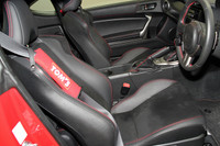 TOM'S Shoulder Pad - Black - Scion FR-S / Subaru BR-Z