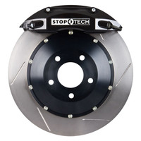 StopTech BBK (Big Brake Kit) - Infiniti G37 Base Sedan non-sport - 2008-2009 - Slotted Front 355x32