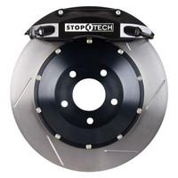 StopTech BBK (Big Brake Kit) - Subaru Impreza WRX STi v7-9 (5x100mm & 5x114.3mm Bolt Circle)  - RACE ONLY - 2004-2007 - Slotted Rear 328x28