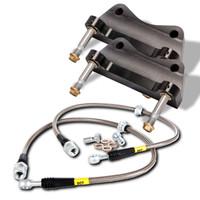 StopTech BBK (Big Brake Kit) - Subaru Impreza WRX  - 2008-2009 - Drilled Rear 345x28