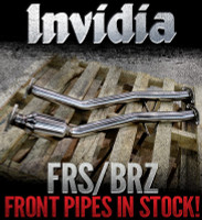 Invidia Down Pipe - w/ test pipe- Scion FR-S / Subaru BRZ