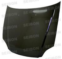 Seibon Carbon Fiber OEM Hood - Honda Civic (Em1/Ej6/7/8/Ek9)* 1996-1998