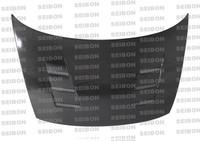 Seibon Carbon Fiber TS Hood - Honda Civic 2Dr (Fg1/2) 2006-2010