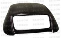 Seibon Carbon Fiber Hardtop W/ Glass - Honda S2000 2000-2010