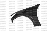 Seibon Carbon Fiber OEM Fenders (Pair) - Infiniti G37 4Dr 2008-2010