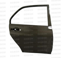 Seibon Carbon Fiber Rear Doors (Pair) - Mitsubishi Lancer Evo Viii / Ix 2003-2007