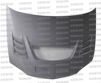 Seibon CW Dry Carbon Hood - Mitsubishi Lancer Evo Viii / Ix 2003-2007