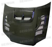 Seibon Carbon Fiber CW Hood Scoop - Subaru Impreza / Wrx / Sti 2004-2005