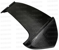 Seibon Carbon Fiber STI Rear Spoiler W/Led - Subaru Impreza / Wrx / Sti Hb 2008-2011