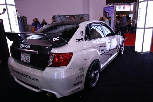 Seibon Carbon Fiber Sti Rear Spoiler Subaru Impreza 4dr