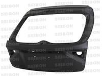 Seibon OEM Dry Carbon Trunk/Hatch - Subaru Impreza / Wrx / Sti Hb 2008-2011
