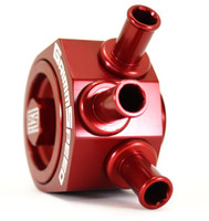 Air Oil Separator Red - Subaru 08+ WRX/ ALL LGT