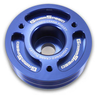 Lightweight Crank Pulley Blue - Subaru All EJ Engines
