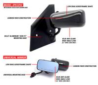 APR Carbon Fiber Formula GT3 Mirrors - Scion FR-S / Subaru BRZ
