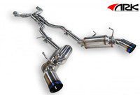ARK Performance GRiP Burnt Tip Exhaust - Infiniti G35 Coupe 03-06