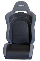 NRG EVO Style Reclinable Sport Seat w/ Logo