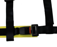NRG 4 Point 2 inch Safety Harness - Black