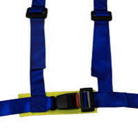 NRG 4 Point 2 inch Safety Harness - Blue