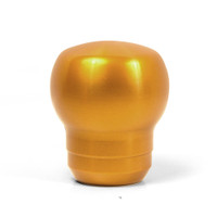 Blox Racing FR-S Style Billet Shift Knob - Gold, 12x1.25mm