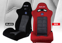 Buddy Club Racing Spec Reclinable Seat - Red