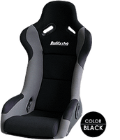 Buddy Club Racing Spec Bucket Seat (Wide) - Black