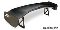 APR Carbon Fiber GTC-300 Wing - Mazda RX-7