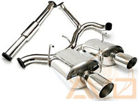 AVO 3inch Stainless Steel Cat Back Exhaust - 08-10 Subaru WRX Sedan