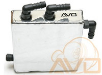 AVO Aluminum Breather Oil Catch Tank Kit - 02-05 Subaru WRX/STI/FXT