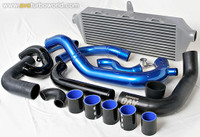 AVO Front Mount Intercooler w/ Black Piping - 02-05 Subaru WRX/STI