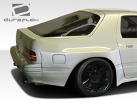 1986-1991 Mazda RX-7 Duraflex MTP Wide Body Rear Fender Flares