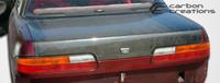 1989-1994 Nissan 240SX 2DR Carbon Creations Carbon Fiber OEM Trunk -