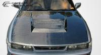 1989-1994 Nissan Silvia S13 Carbon Creations Carbon Fiber D-1 Hood