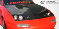 1990-1997 Mazda Miata Carbon Creations Carbon Fiber OEM Hood -