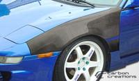 1991-1995 Toyota MR2 Carbon Creations Carbon Fiber OEM Fenders - 2 Pieces